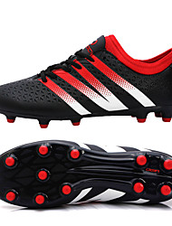 Men's / Women's / Unisex Shoes Synthetic Athletic Shoes Soccer Long Nail Lacing Black / Green / Orange