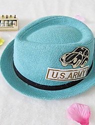 Girls / Boys Hats & Caps,All Seasons Linen Black / Blue / Pink / Yellow