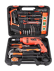 40 electric impact drill combination tools hardware tool set
