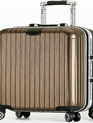 Unisex PVC Professioanl Use Travel Bag Gold / Silver / Gray