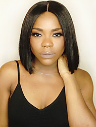 Silk Straight Short Bob Human Hair Wigs Brazilian Virgin Hair Wigs 8A Full Lace Human Hair Wigs