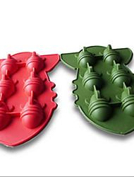 Silicone Atomic Bomb Shape Ice Cube Freeze Mold Ice Cream Tools 3D Shape Ice Tray Cool(Random Color)