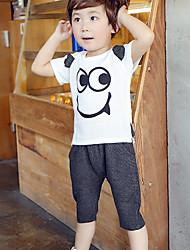 T-shirt / Pantaloncini Maschile Con stampe Estate Cotone