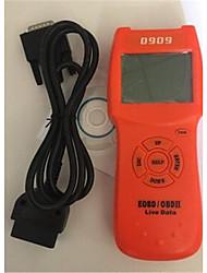 conjunto da caixa neutra ferramenta de diagnóstico do scanner d909 obd2 para o instrumento automóvel detectar