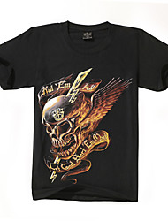 The New Foreign Trade Man Skeleton Army Creative Cotton 3D T-shirts