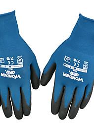 fragen sich grip® drei Anti Schneidverschleißfesten Anti piercing Antiblockier-Nitril-Beschichtung ölbeständige Handschuhe