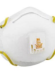 3m-8511 PM 2.5 protectora anti-niebla y neblina de polvo y mascarillas con las máscaras del receptor de cabeza de válvula de respiración