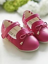 Zapatos de bebé-Bailarinas-Exterior-PU-Azul / Rosa / Rojo