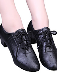 Modern Women's Heels Low Heel Ventilation with Lace-up Dance Shoes(More Colors)