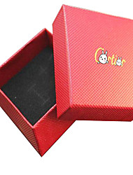 Necklace Jewelry Boxes Jewelry Daily / Casual Fashion Others Red 1pc Gift