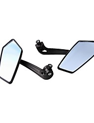 Pair Motorcycle Motorbike Side Rear View Mirror for Yamaha Honda