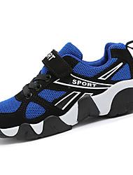 Per bambino-Sneakers-Casual-Punta arrotondata-Piatto-Tulle-Blu / Blu reale