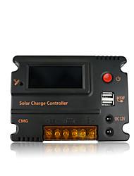 controlador de carga solar de 12 / 24v 20a