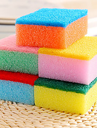 Kitchen Cleaning Sponge & Scouring Pad Tools,Sponge(Random Colours)