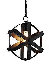 New Vintage Style Industrial Round pendant lights balcony Loft  Entry Bedroom Home Furnishing decorative Chandelier