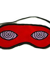 Máscara Inspirado por Naruto Naruto Uzumaki Animé Accesorios de Cosplay Máscara Rojo Pana Hombre / Mujer