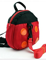 Women Canvas Casual Backpack Red