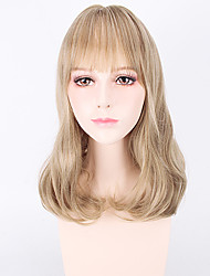 Beautiful Brown Wave Hot Sale Top Quality Heat Resistant Synthetic Wigs
