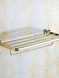 Bathroom Shelf / Polished Brass / Wall Mounted /60*15*10 /Brass /Antique /60 15 1.831