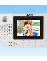 video porteiro fornecimento de intercomunicação extensão tesouro compatível shidean Fu'an com 980 de extensão visual preto e branco