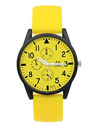 Unisex Silica Plastic Strap Digital Pointer Leisure Cartoon Simple Student Watches Fashion Watch