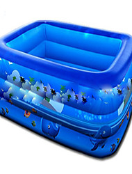 Family Inflatable Square Baby Tubs Inflatable Swimming Pool For Kids PVC Environmental Protection Swimming Pools