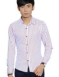 Men's clothing long sleeve shirts