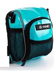 B-SOUL® велосипед сумка 0.5LБардачок на рульВодонепроницаемый / Водонепроницаемая застежка-молния / Влагонепроницаемый / Ударопрочность /