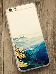 Back Shockproof Scenery TPU Soft Shockproof Case Cover For Apple iPhone 6s Plus/6 Plus / iPhone 6s/6 527911683028