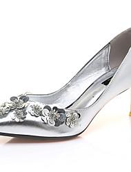 Homme-Mariage / Décontracté / Soirée & Evénement-Argent-Talon Aiguille-Talons-Chaussures à Talons-Synthétique