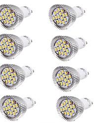 7W GU10 Lâmpadas de Foco de LED MR16 15 SMD 5630 700 lm Branco Quente / Branco Frio Decorativa AC 85-265 / AC 220-240 / AC 100-240 V8