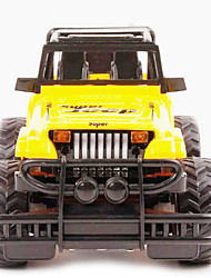 Buggy (Off-road) Other Hummer 1:24 Brushless Electric RC Car Red / Yellow Ready-to-go