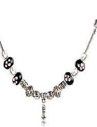 Necklace Strands Necklaces Jewelry Daily / Casual Fashion / Adorable Alloy Silver 1pc Gift