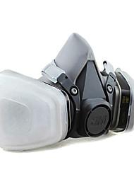 3m-6200 + 6005 máscara de gás decoração formaldeído vapor orgânico de máscaras contra poeira