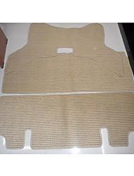 tapetes de carro de linho luz flexibilidade durabilidade usar proteção ambiental impermeável