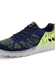 Men's Shoes LED Outdoor / Office & Career / Casual Flats Outdoor / Office & Career/ Blue /