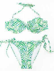 Muairen® Women'S Custom-Made Pasted Breast And Sexy Lace Bikini