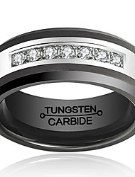 Ring Fashion / Vintage Wedding / Party / Daily / Casual Jewelry Tungsten Steel Men Band Rings 1pc,7 / 8 / 9 / 10 / 11 / 12 / 13 / 8½ / 9½