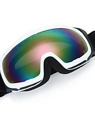 Motorcycle Motocross Enduro Ski Snowboard Eye Protection Glasses Goggles White