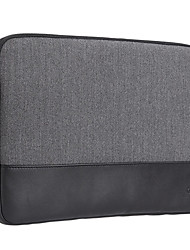 Gearmax® 15inch Laptop Sleeve/Bag Solid Color Gray