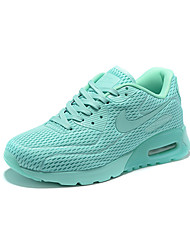Nike Air Max 90 Ultra BR Breathe Women's Running Shoes Athletic Sneakers Shoes White Cyan Grey