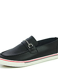 Men's Shoes Casual Loafers Black/Orange/White