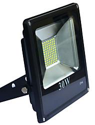 30W Projecteurs LED 2400-2800Lm lm Blanc Chaud / Blanc Froid SMD 5730 Etanches AC 100-240 V 1 pièces