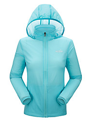 Outdoor Women's Tops High Breathability / Ultraviolet Resistant / Windproof / Lightweight Materials