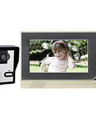 7 Hands-free 800*3/*480 One to One video doorphone