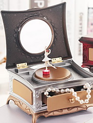 Classic Dresser Rotating Girl Music Box