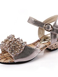 Sandálias(Dourado) - deMENINO-Conforto / Bico Aberto / Sandálias