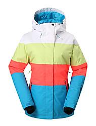 gsousnow Frauen Skijacke / Snowboard jackete / douwboard Jacken / Outdoor winddicht wasserdicht atmungsaktiv Skianzug