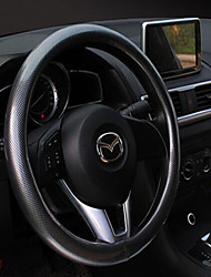 Car Steering Wheel Covers Carbon Fiber Peach Wood Grain Handlebar Sets General Direction Of The Four Seasons