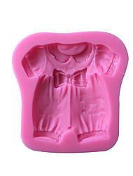 Baby Clothes Silicone Cake Mold SM-517